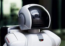 ASIMOの光学ユニット